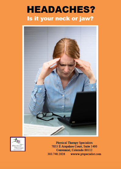 eBook Title: Headaches? is it your Neck or your jaw?