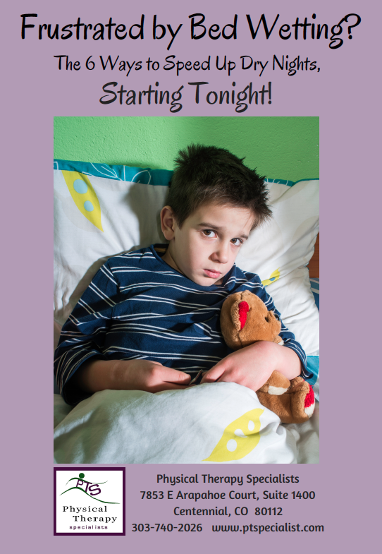 Cover Page for Free ebook: Frustrated by BedWetting?