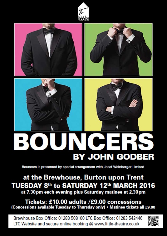 Bouncers by Little Theatre Company