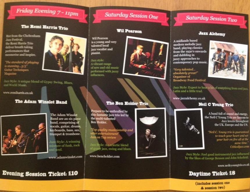 Wil Pearson Jazz Festival