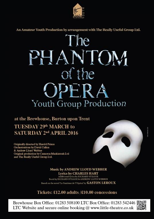 The Phantom of the Opera bt=y LTC Youth