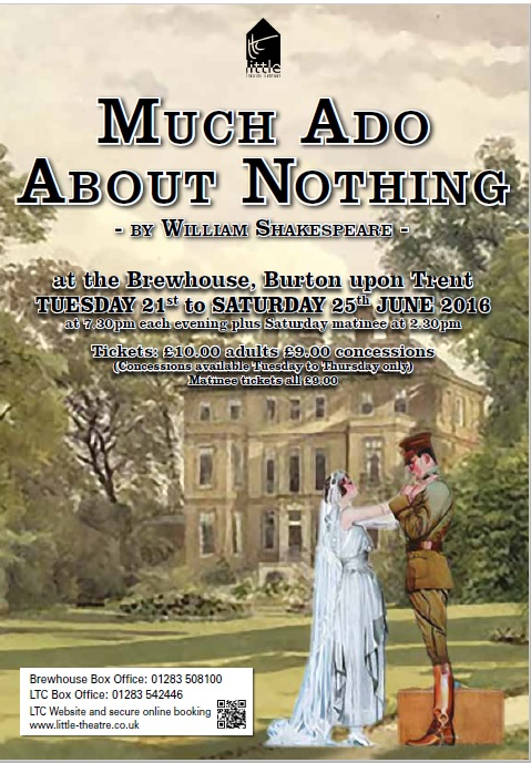 Much Ado About Nothing June 21-25 2016