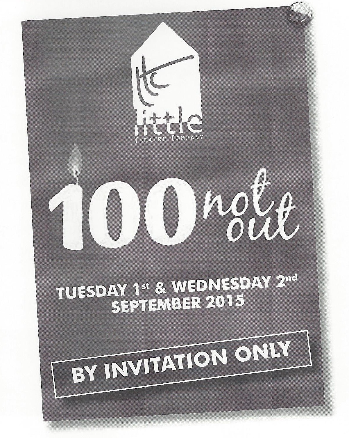 100 not out patrons evening