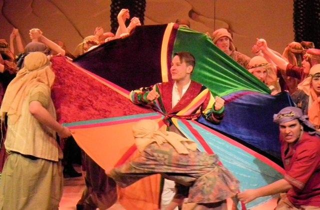 Joseph coat of many colours