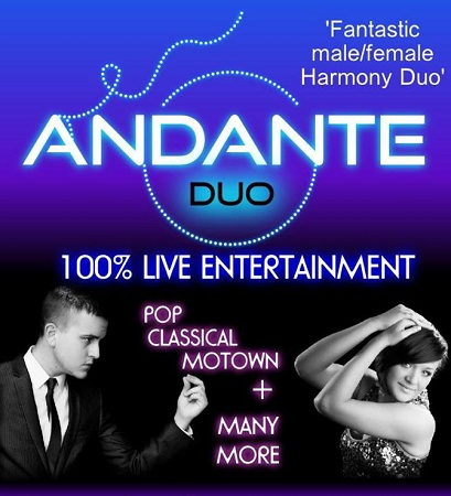 Andante Duo Mitch Corner and Kirsty Hughes