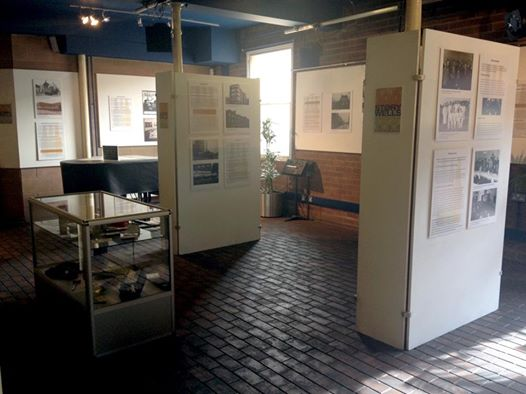 Storywells exhibition at the Brewhouse, Burton