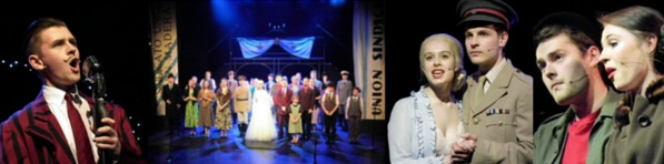 Montage of pix from Evita