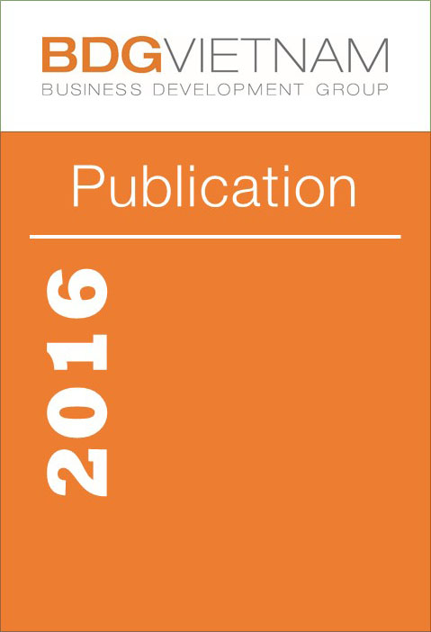 BDG Publication 2016