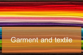 Garment and textile