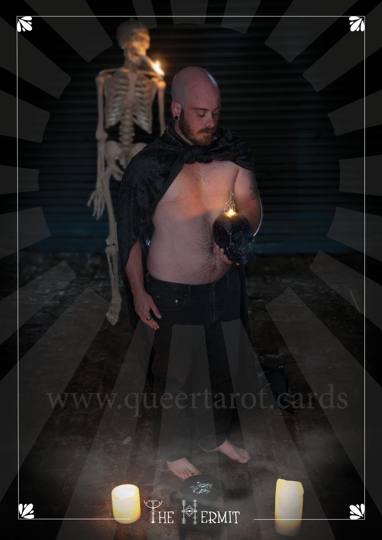 The Hermit Queer Tarot Card