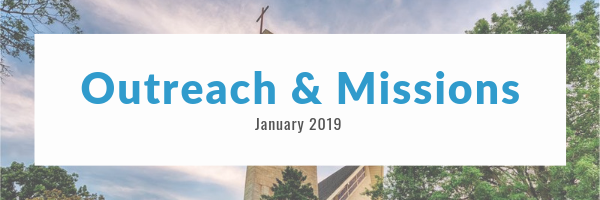 Outreach and Missions Newsletter