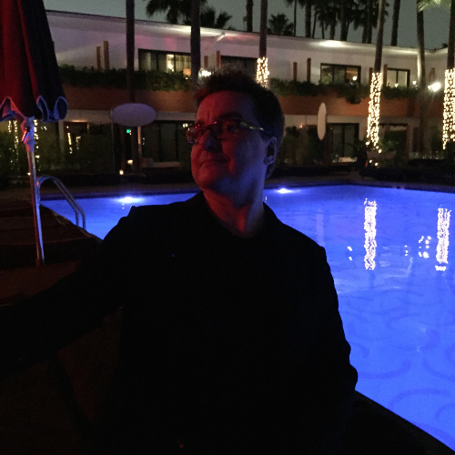Kaz at Roosevelt Hotel Pool