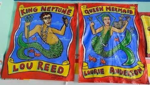 2010 Mermaid Parade Banners