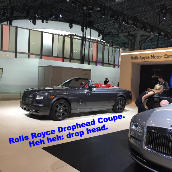 Rolls Royce Drophead Coupe