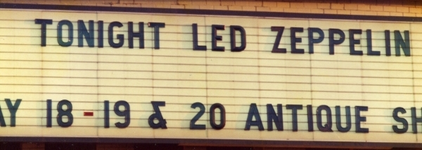 Led Zeppelin Marquee