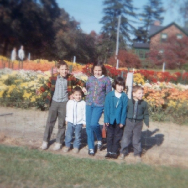 My brothers and sisters and I, Oct. 1967.