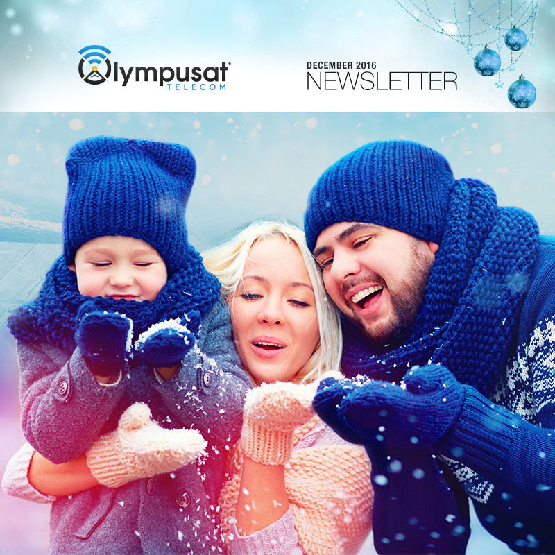 Olympusat Telecom December 2016 Newsletter