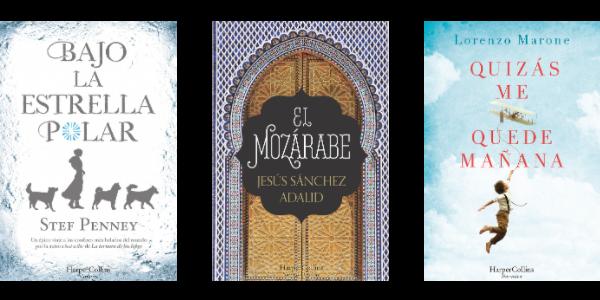 Novedades literarias de HarperCollins Ibérica