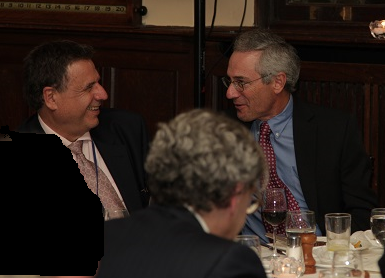Dr. Alain Beaudet and Dr. Thomas Insel