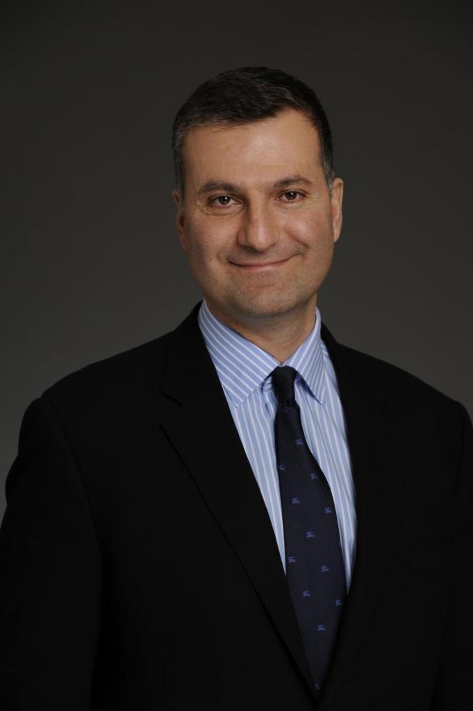 Dr. Daskalakis, 2013 Sam Lal award recipient