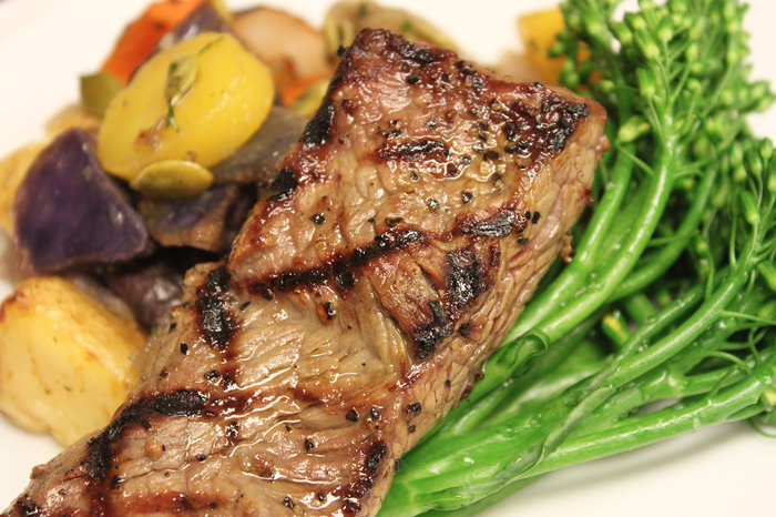 NPR: A dish with antibiotic-free beef at Overlake Medical Center