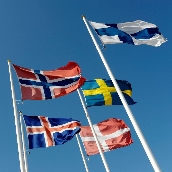 Flags of the Nordic Council
