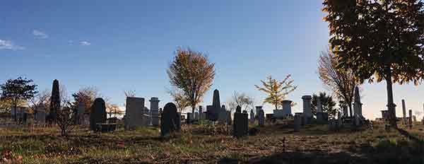 Eastern Cemetery landscape
