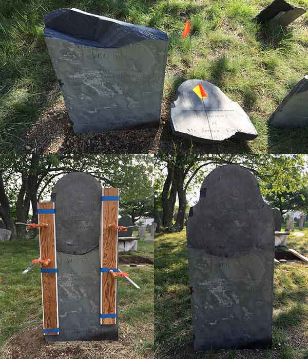 3 phases of the conservation of James, James and Francis Corry