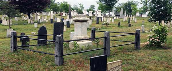 Family plot, Eastern Cemetery