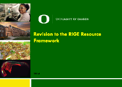 Revision to the RIGE Resource Framework