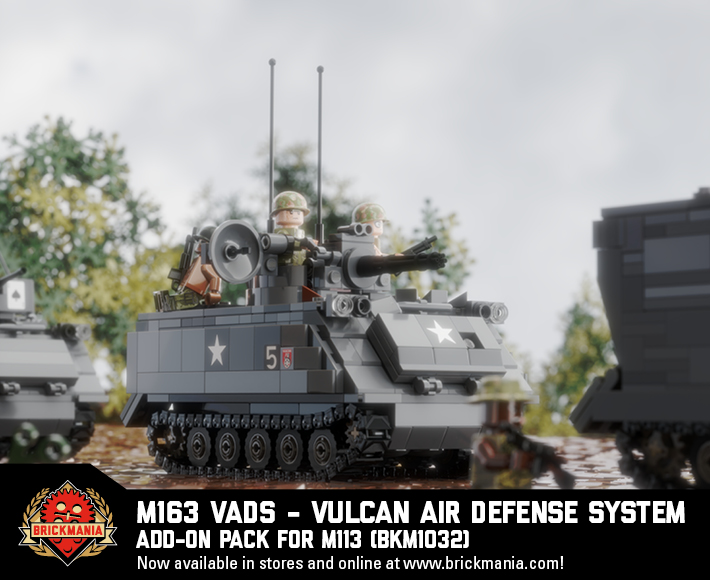 New Releases: M113 Add-Ons – M163 VADS, M557Command Vehicle, ACAV + Crew, Vietnam US LRRP, Jungle Boot Stickers, AND MORE!