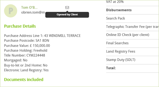 Conveyancing Calculator Title and tenure