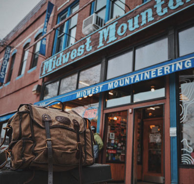 Frost River Nessmuk Pack at Midwest Mountaineering in Minneapolis, MN