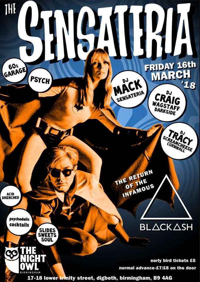 sensateria poster