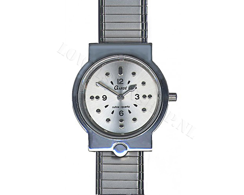 braille horloge heren rekband