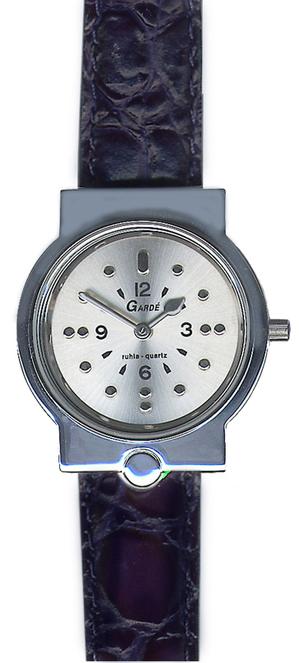 garde braille horloge dames