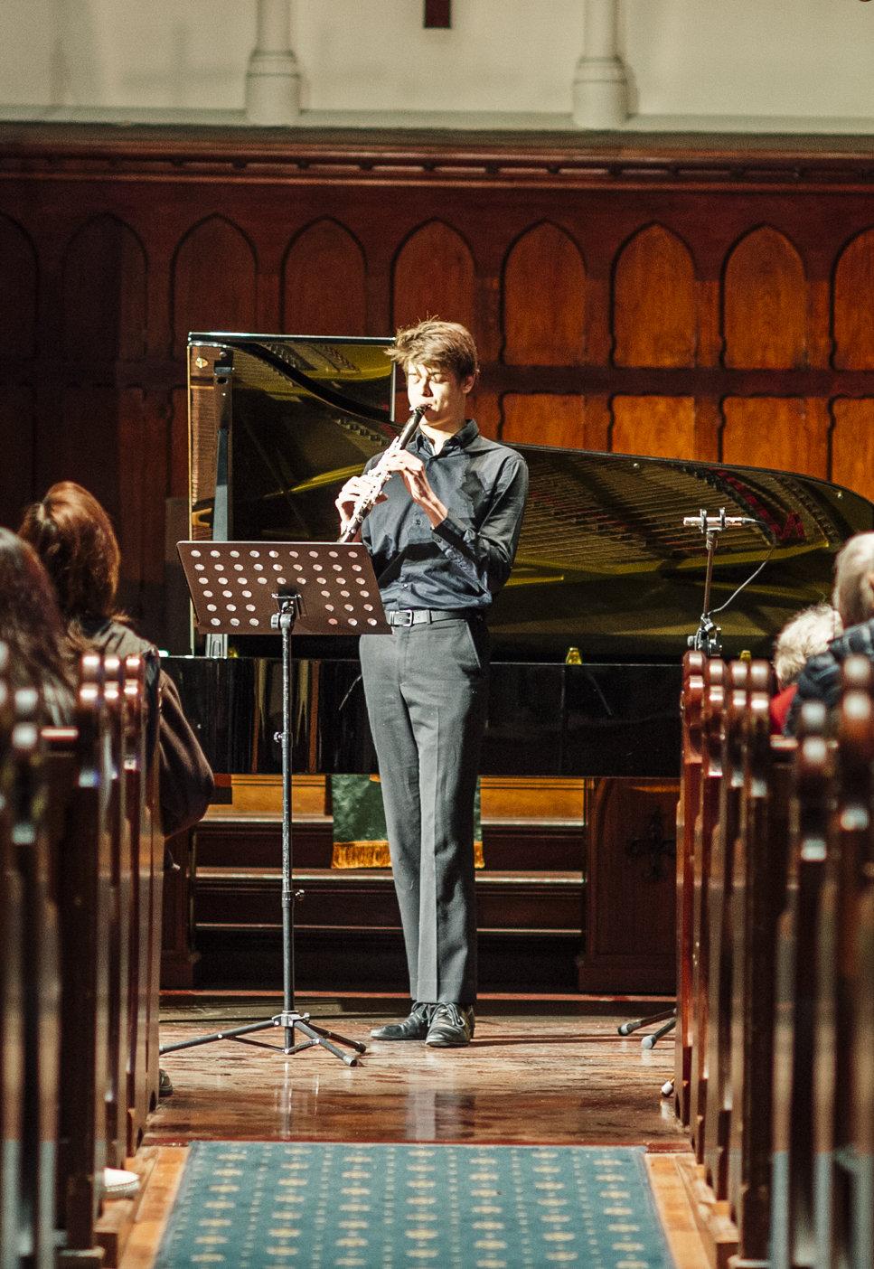 Lewis Blanchard, Clarinet