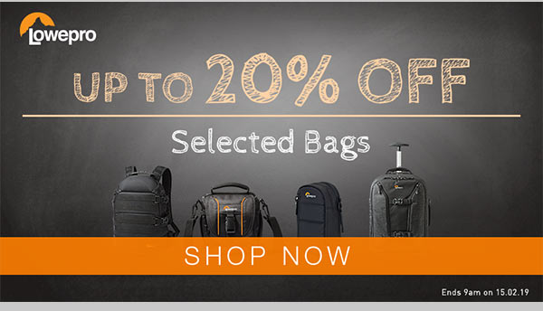 Up to 20% OFF Lowepro