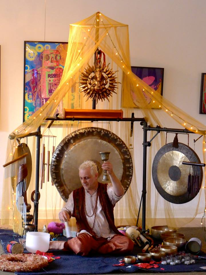 Preston Klik's Ocean Of Devotion Gong and Singing Bowl Sound Healing Meditation @ Evolve | Crystal Lake | Illinois | United States