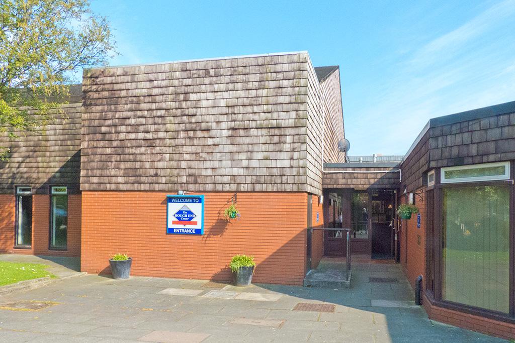 Hough End Building Entrance