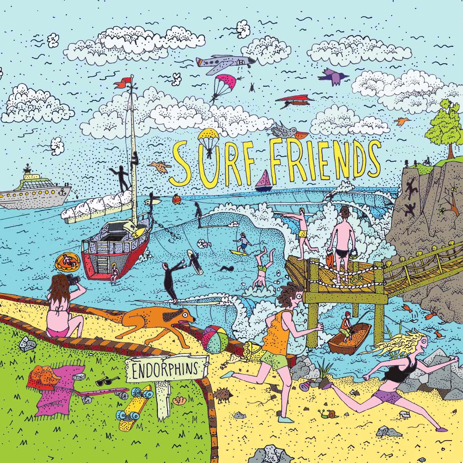 Surf Friends - Endorphins Album Art