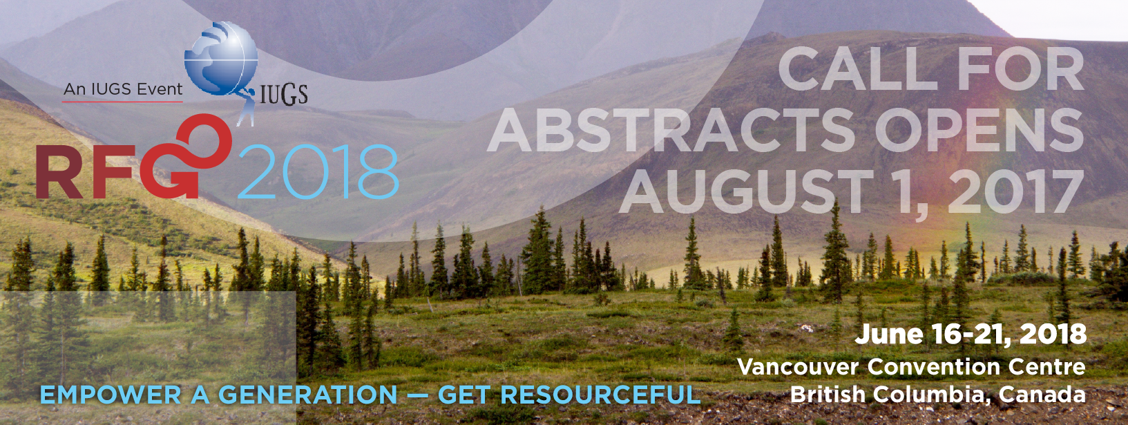 Call for Abstracts opens August 1, 2017