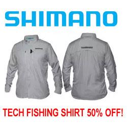 Shimano Tech Shirt 50% OFF