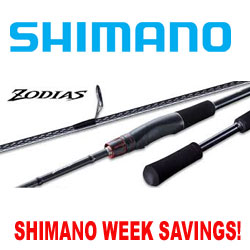 Shimano Week Savings on Zodias Rods