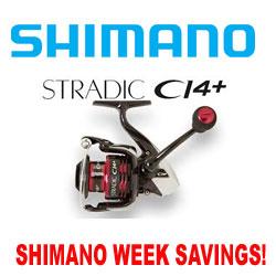 Shimano Week Savings on Stradic Ci4