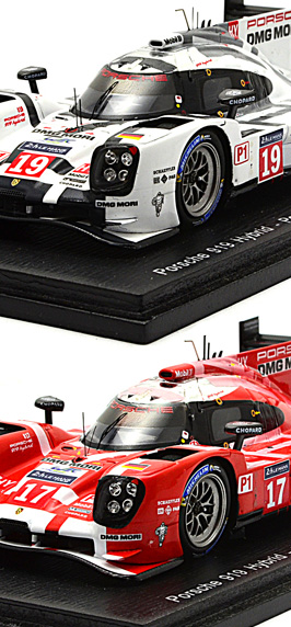 Miniatures 24h Le Mans Spa Nurburgring 2015