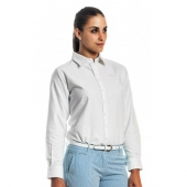 White Oxford Button Down Shirt (Women's) for Preppy Fall 2013