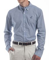 Men's Gingham Coastal Sport Shirt