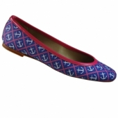 Fabric Ballet Flats for Preppy Fall 2013
