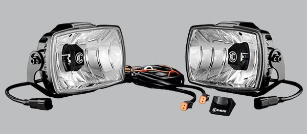 "KC 4"" x 6"" Gravity LED Driving light"